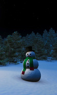 Download free mobile wallpaper 33223: Background,Snowman,New Year,Holidays for phone or tab. Download images, backgrounds and wallpapers for mobile phone for free.