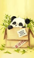 Download free mobile wallpaper 29333: Background,Pandas,Animals for phone or tab. Download images, backgrounds and wallpapers for mobile phone for free.