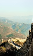 Download free mobile wallpaper 47965: Mountains,Landscape,Great Wall of China for phone or tab. Download images, backgrounds and wallpapers for mobile phone for free.