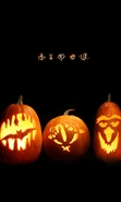 Download free mobile wallpaper 43545: Halloween,Holidays,Pumpkin for phone or tab. Download images, backgrounds and wallpapers for mobile phone for free.