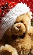 Download free mobile wallpaper 22091: Toys, Teddy bear, New Year, Holidays, Christmas, Xmas for phone or tab. Download images, backgrounds and wallpapers for mobile phone for free.