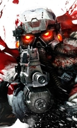 Download free mobile wallpaper 33857: Games,Killzone 2 for phone or tab. Download images, backgrounds and wallpapers for mobile phone for free.