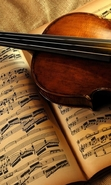 Download free mobile wallpaper 42080: Violins,Music,Objects for phone or tab. Download images, backgrounds and wallpapers for mobile phone for free.