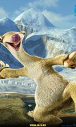 Download free mobile wallpaper 5227: Cartoon, Ice Age, Sid for phone or tab. Download images, backgrounds and wallpapers for mobile phone for free.