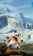 Download free mobile wallpaper 4946: Cartoon, Scrat, Ice Age for phone or tab. Download images, backgrounds and wallpapers for mobile phone for free.