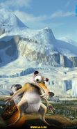 Download free mobile wallpaper 8662: Cartoon, Scrat, Ice Age for phone or tab. Download images, backgrounds and wallpapers for mobile phone for free.