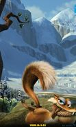 Download free mobile wallpaper 255: Cartoon, Ice Age, Scratte for phone or tab. Download images, backgrounds and wallpapers for mobile phone for free.