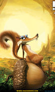 Download free mobile wallpaper 11091: Cartoon, Animals, Ice Age, Scratte for phone or tab. Download images, backgrounds and wallpapers for mobile phone for free.