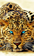 Download free mobile wallpaper 35787: Leopards,Pictures,Animals for phone or tab. Download images, backgrounds and wallpapers for mobile phone for free.