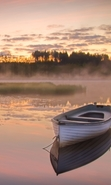 Download free mobile wallpaper 40048: Boats,Landscape,Rivers for phone or tab. Download images, backgrounds and wallpapers for mobile phone for free.