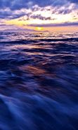 Download free mobile wallpaper 14429: Sea, Sky, Nature, Water, Sunset for phone or tab. Download images, backgrounds and wallpapers for mobile phone for free.