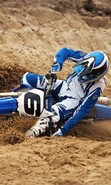 Download free mobile wallpaper 46506: Motorcycles,Motocross,Sports,Transport for phone or tab. Download images, backgrounds and wallpapers for mobile phone for free.