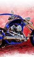 Download free mobile wallpaper 5021: Transport, Motorcycles, Drawings for phone or tab. Download images, backgrounds and wallpapers for mobile phone for free.