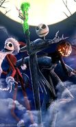 Download free mobile wallpaper 9548: Cartoon, The Nightmare Before Christmas for phone or tab. Download images, backgrounds and wallpapers for mobile phone for free.