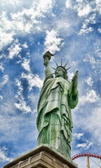 Download free mobile wallpaper 50221: Sky,Objects,Landscape,Statue of Liberty for phone or tab. Download images, backgrounds and wallpapers for mobile phone for free.