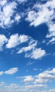 Download free mobile wallpaper 22626: Sky, Clouds, Landscape for phone or tab. Download images, backgrounds and wallpapers for mobile phone for free.