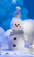 Download free mobile wallpaper 30258: Snowman,New Year,Holidays for phone or tab. Download images, backgrounds and wallpapers for mobile phone for free.