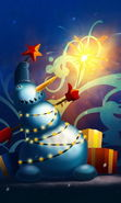 Download free mobile wallpaper 14054: Snowman, New Year, Holidays, Pictures, Christmas, Xmas for phone or tab. Download images, backgrounds and wallpapers for mobile phone for free.