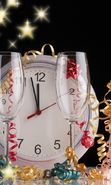 Download free mobile wallpaper 23438: New Year, Objects, Holidays for phone or tab. Download images, backgrounds and wallpapers for mobile phone for free.
