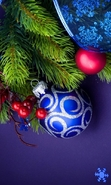 Download free mobile wallpaper 43085: New Year,Objects,Holidays for phone or tab. Download images, backgrounds and wallpapers for mobile phone for free.