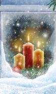 Download free mobile wallpaper 10346: Holidays, New Year, Objects, Christmas, Xmas, Candles for phone or tab. Download images, backgrounds and wallpapers for mobile phone for free.