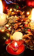 Download free mobile wallpaper 13999: New Year, Objects, Holidays, Christmas, Xmas, Candles for phone or tab. Download images, backgrounds and wallpapers for mobile phone for free.
