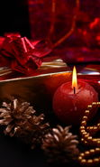 Download free mobile wallpaper 14042: New Year, Objects, Holidays, Christmas, Xmas, Candles for phone or tab. Download images, backgrounds and wallpapers for mobile phone for free.