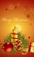 Download free mobile wallpaper 2321: Holidays, New Year, Objects, Christmas, Xmas, Candles for phone or tab. Download images, backgrounds and wallpapers for mobile phone for free.