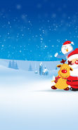 Download free mobile wallpaper 14089: New Year, Holidays, Pictures, Christmas, Xmas, Santa Claus for phone or tab. Download images, backgrounds and wallpapers for mobile phone for free.