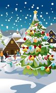 Download free mobile wallpaper 24576: New Year, Holidays, Pictures, Christmas, Xmas, Snow for phone or tab. Download images, backgrounds and wallpapers for mobile phone for free.