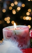 Download free mobile wallpaper 30626: New Year,Holidays,Candles for phone or tab. Download images, backgrounds and wallpapers for mobile phone for free.