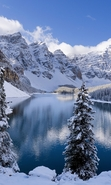 Download free mobile wallpaper 49809: Lakes,Landscape,Nature,Winter for phone or tab. Download images, backgrounds and wallpapers for mobile phone for free.