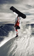 Download free mobile wallpaper 37482: Snowboarding,Sports for phone or tab. Download images, backgrounds and wallpapers for mobile phone for free.