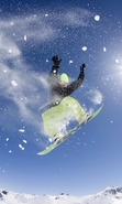 Download free mobile wallpaper 40900: Snowboarding,Sports for phone or tab. Download images, backgrounds and wallpapers for mobile phone for free.