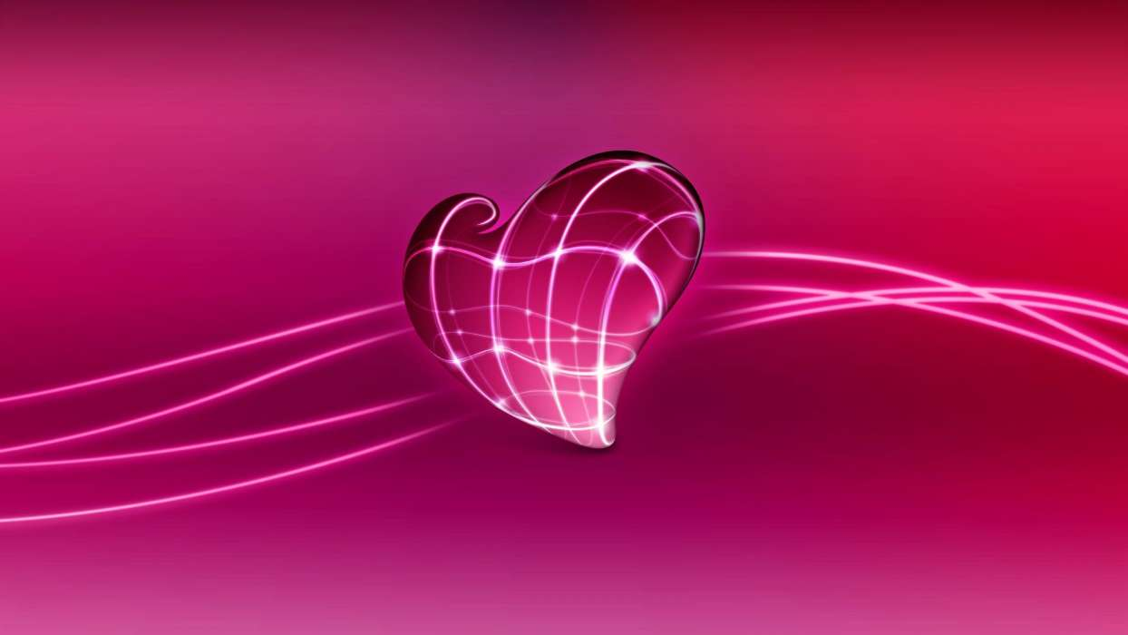 Download mobile wallpaper Abstract, Hearts, Love, Valentine's day for free.