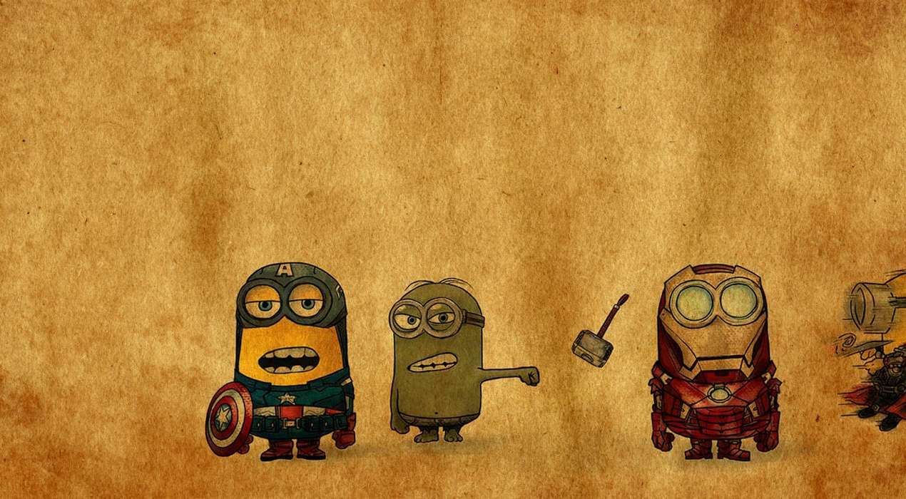 Handy-Wallpaper Humor, Cartoon, Bilder, Despicable Me kostenlos herunterladen.
