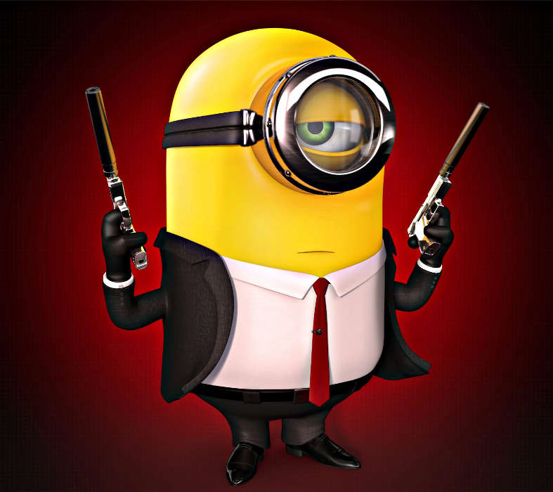Download Mobile Wallpaper Funny Cartoon Despicable Me Free 22873