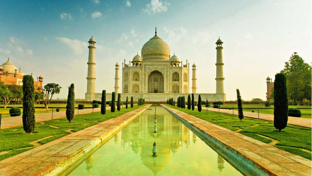 Download mobile wallpaper Architecture, Taj Mahal for free.