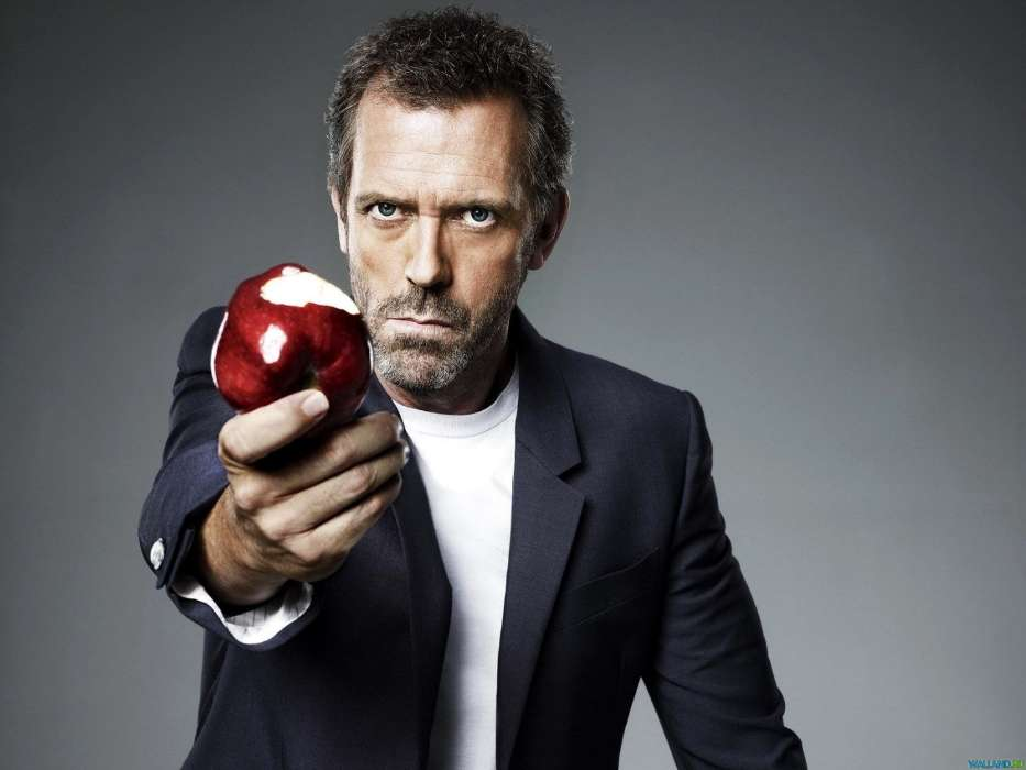 Download mobile wallpaper Cinema, People, Actors, Men, House M.D., Hugh Laurie for free.