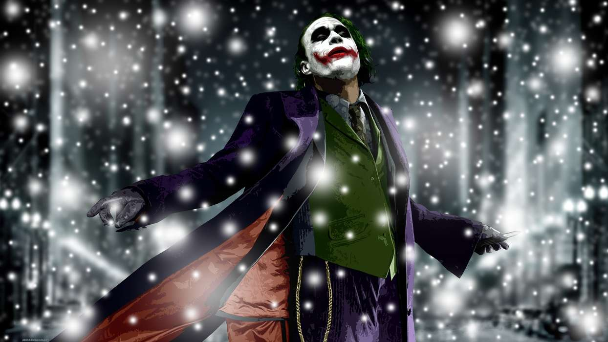 Download mobile wallpaper Cinema, People, Actors, Men, Joker for free.
