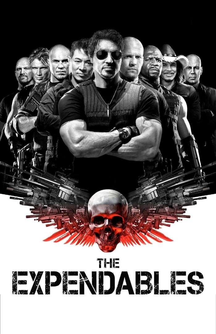 Download mobile wallpaper Cinema, People, Actors, Men, The Expendables, Sylvester Stallone, Jason Statham, Jet Li for free.