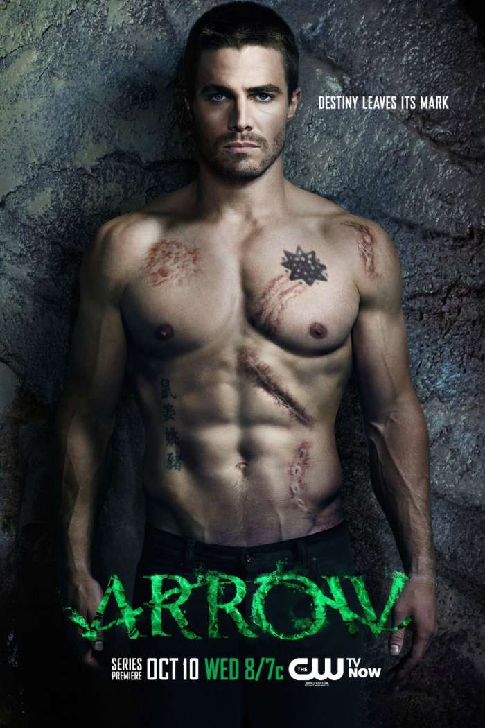 Download mobile wallpaper Cinema, People, Actors, Men, Arrow for free.