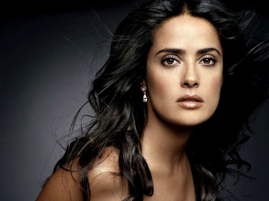 Download mobile wallpaper Cinema, People, Girls, Salma Hayek for free.