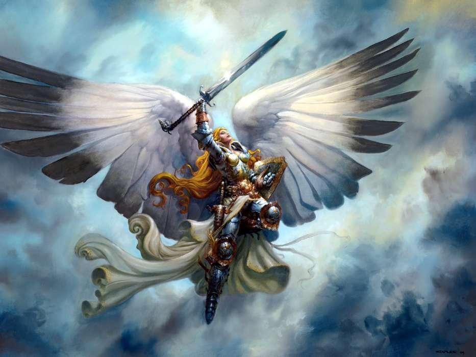 Download Bilder Für Das Handy Mädchen Fantasie Engel Kostenlos