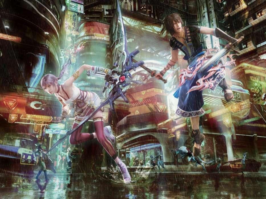 Download Bilder Für Das Handy Spiele Anime Mädchen Männer Final
