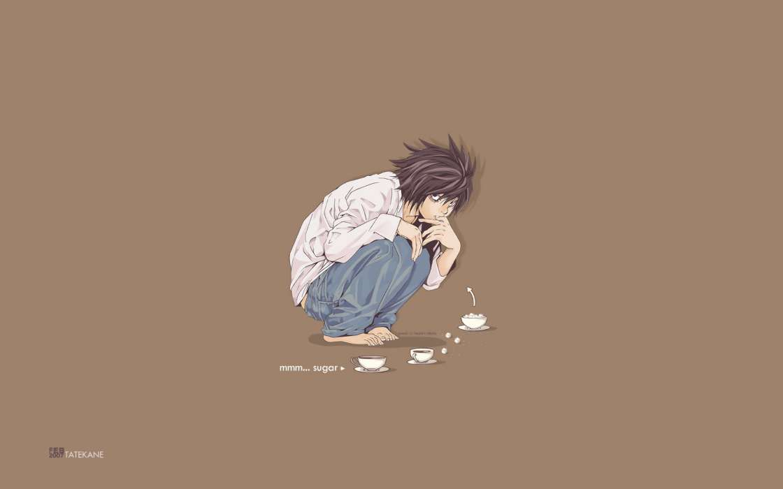 Download mobile wallpaper Cartoon, Anime, Death Note for free.