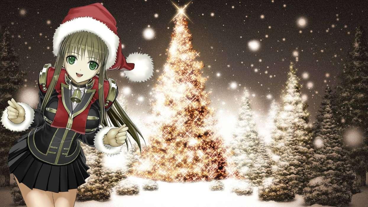 Download Bilder für das Handy: Feiertage, Anime, Neujahr ...