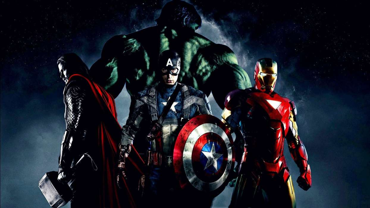Download mobile wallpaper Cinema, People, Captain America for free.