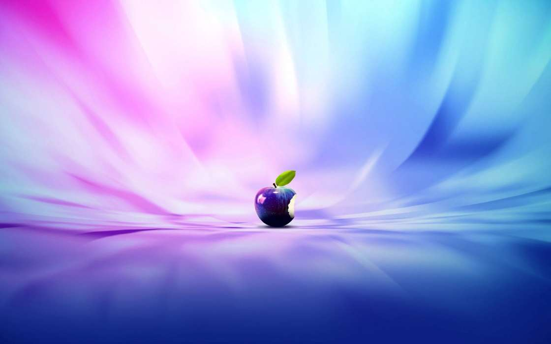Download mobile wallpaper Brands, Background, Apple, Apples for free.