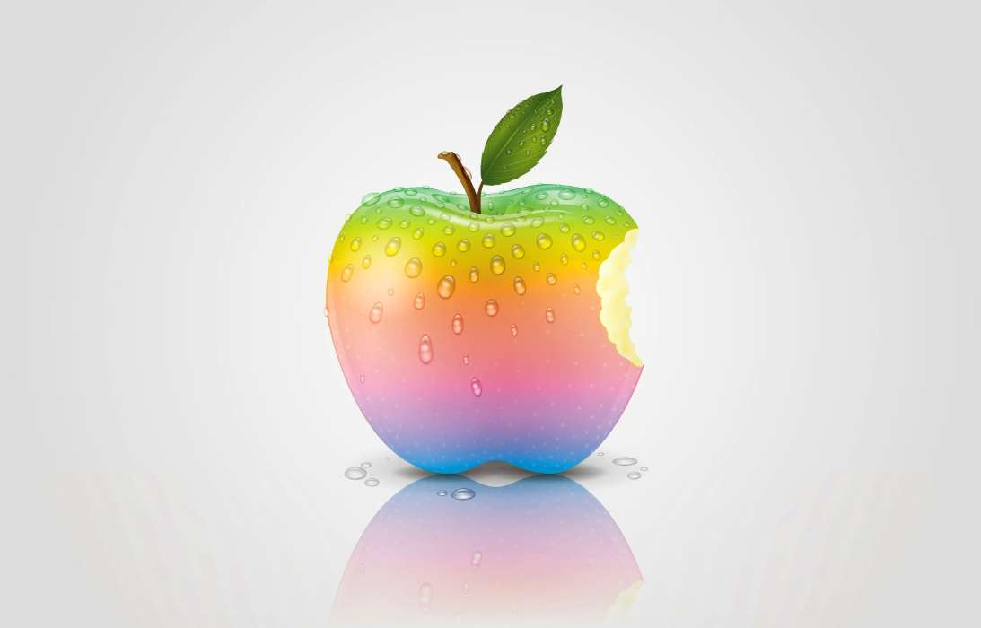 Download mobile wallpaper Background, Apple, Objects, Apples for free.